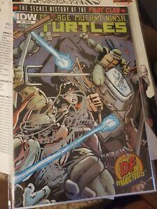 Teenage Mutant Ninja Turtles Secret History of the Foot Clan 1 DF Sketch COA