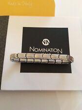 Genuine Nomination 18 Link Smarty Bracelet. Smarty Size Charms (trendsetter)