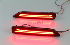 2x Rear Bumper Reflector Surface emission Light For honda crv city brv MOBILIO