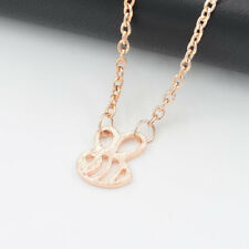 Women Girls Bumble Bee Necklace Cute Insect Charm Pendant Necklace Jewelry