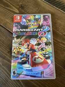 MARIO KART 8 DELUXE - NINTENDO SWITCH AUTHENTIC REPLACEMENT BOX ONLY - NO GAME