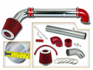 Sport RAM AIR INTAKE KIT+ RED Filter For JEEP 97-06 Wrangler TJ 2.5L 4.0L SE