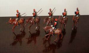 JOHN HILL CO JOHILLCO LANCERS AND OFFICER UNBOXED 6 FIGURES