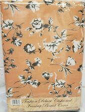 "Padded Ironing Board Cover & Pad, Small Flowers On Orange (for 54"" boards) by Bh"