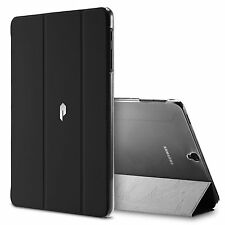 Black For Galaxy Tab S3 9.7 Poetic Slimline Trifold Cover Stand Folio Case