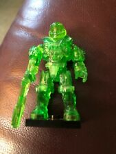 Mega Bloks Halo - CHARLIE Series - GREEN translucent SPARTAN HAZOP