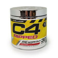 Cellucor C4 Ripped - Fruit Punch - 30 Servings - EXP 4/19