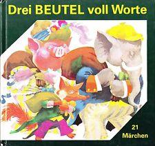 Drei Beutel voll Worte von Anne Geelhaar 1990 - Junge Welt Berlin