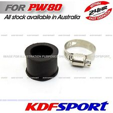 KDF PW80 PY80 MUFFLER EXHAUST CLAMP CLIP FOR YAMAHA PW 80  PEEWEE PY RUBBER 80PY