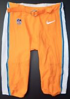 MIAMI DOLPHINS NIKE GAME USED COLOR RUSH PANTS - Size 44