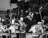 1979 Boston Bruins Terry O'reilly Attacks Fan in Stands vs NY Range 8 X 10 Photo
