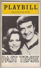 "Barbara Feldon & Michael Miller   ""Past Tense""  Playbill 1980"
