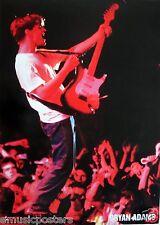 "Bryan Adams ""Playing Guitar To The Crowd"" Giant Subway Australia Promo Poster"