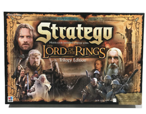 Stratego Board Game Lord of the Rings Trilogy Edition Middle Earth Strategy Game