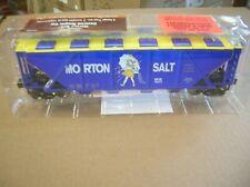 MENARDS O SCALE MORTON SALT HOPPER CAR -  MAKE OFFERS