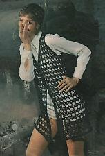 Vintage Crochet Pattern Lady's Long/Hippie/Festival Waistcoat/Jacket & Hat.