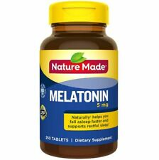 Nature Made Melatonin 5mg, 250 Tablets