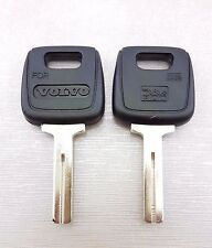 2X KEY BLANK FIT FOR VOLVO 760 780 940 960 850 GLT C70 S80 S70 V70 S90 V90