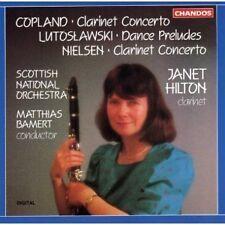 Copland /Nielsen Clarinet Concerto LUTOSLAWSKI Dance Matthias Bamer Janet Hilton