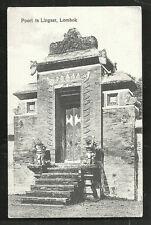 Lombok Gate Lingsar Temple Hindu Islam Indonesia c 1910