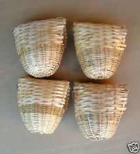 NEW Bird Finch Bamboo Nest Nests #8223 Large L #8223-Lot of 4 pcs - 248