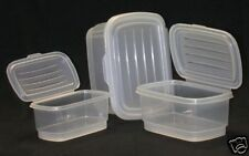 Food storage container Hinged lids set of 3-New-Italian