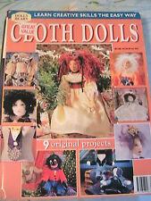 CLOTH DOLLS New Zealand *RARE & OOP cloth doll patterns~EPB~Fiona~PMC~Willis++