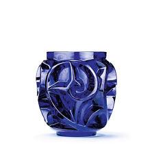 Lalique Tourbillons Vase, Cap Ferrat Blue