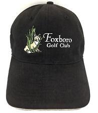 Foxboro Golf Club Hat Ball Marker Cap Logo Baseball Trucker Adjustable Black