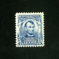 US Stamps # 304 Sup Fresh OG LH
