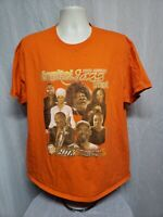 2015 23rd Annual Capital Jazz Festival Adult Orange XL TShirt