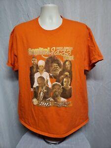 2015 23rd Annual Capital Jazz Festival Adult Orange XL TShirt