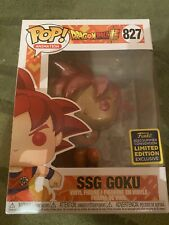 SSG Goku X 2 Dragon Ball Z #827 Funko Pop Vinyl RARE SDCC 2020 in Hand