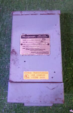 1 USED JEFFERSON ELECTRIC 211-051-120 POWERFORMER DRY-TYPE TRANSFORMER 0.5KVA