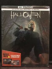 New Sealed HALLOWEEN 2018 4K Blu-Ray DVD STEELBOOK Best Buy Exclusive 1st