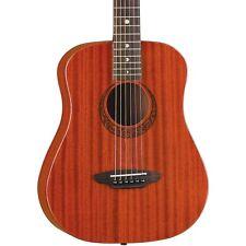 LUNA Guitars Limited Safari Mahogany 3/4 Size Acoustic Guitar Natural
