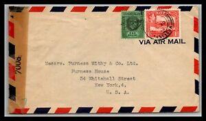 GP GOLDPATH: ANTIGUA COVER 1944 AIR MAIL _CV699_P17