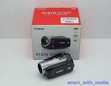 Videocámara Canon Vixia HF200 en caja de tarjeta SDHC de alta definición HD Digital Video