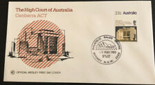 1980 The High Court of Australia Canberra ACT WCS Australian FDC