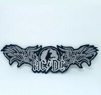 ACDC Hard rock music band Embroidered Iron/Sew on Patch j1315