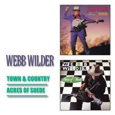 WEBB WILDER - TOWN & COUNTRY / ACRES OF SUEDE 2CDs (NEW & SEALED) Country