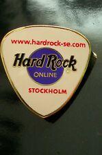 HRC Hard Rock Cafe Stockholm Guitar Pick Online LE500