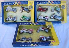 12 Motormax 1:18 Super Bikes Kawasaki Honda Yamaha Valkyrie Vulcan Motorcycle