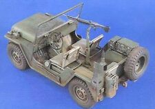 Verlinden 120mm 1/15 M151 Ford MUTT ¼Ton 4x4 US Jeep (Early) w/Engine Detail 985