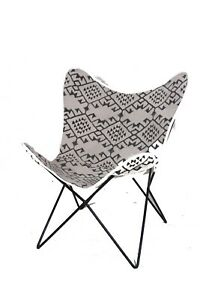 RAJASTHANI TEXTURE Chair Iron Stand With Leather Cover for Indoor Outdoor