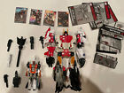 TRANSFORMERS COMBINER WARS SUPERION AERIALBOTS SET OF 6 WITH ALPHA BRAVO