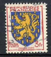 TIMBRE de FRANCE OBLITERE N° 903 BLASON FRANCHE COMTE / Photo non contractuelle