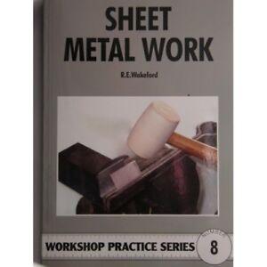 Sheet Metal Work workshop practice series book 8 R.E. Wakeford rdgtools