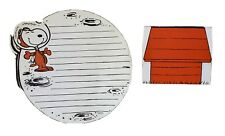 Vtg PEANUTS Snoopy STATIONERY Paper ASTRONAUT Spaceman Envelope