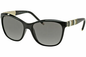 BVLGARI  - womens sunglasses -  BV8104 901/11 - Black - GOLD tip/toes ear
